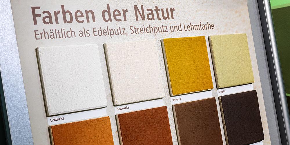 lehmfarbe naturbaustoff innenausbau