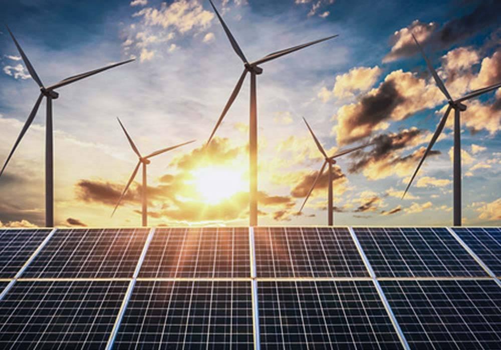 Energie durch Windräder