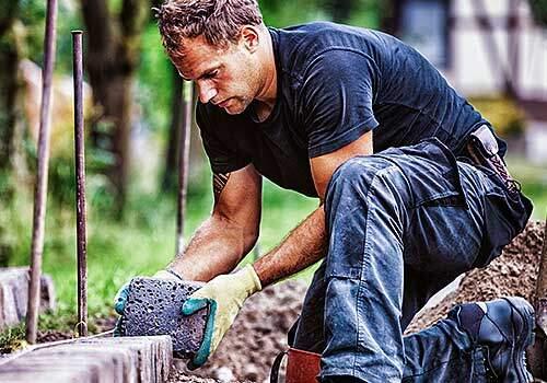 Gartengestaltung Baustoffhandel