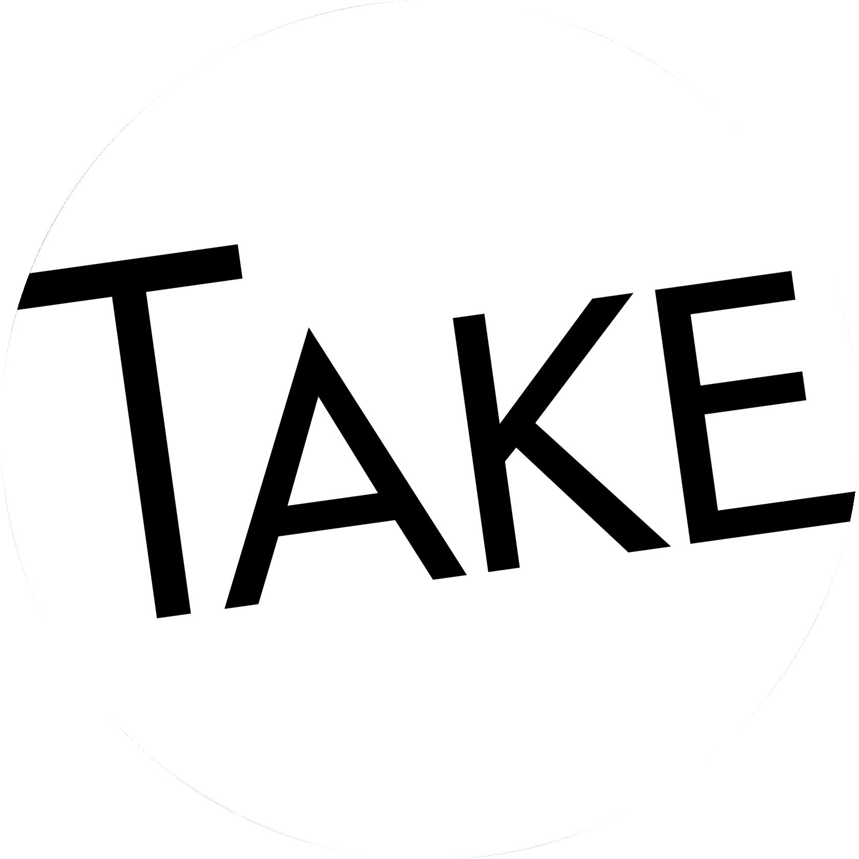 take black logo